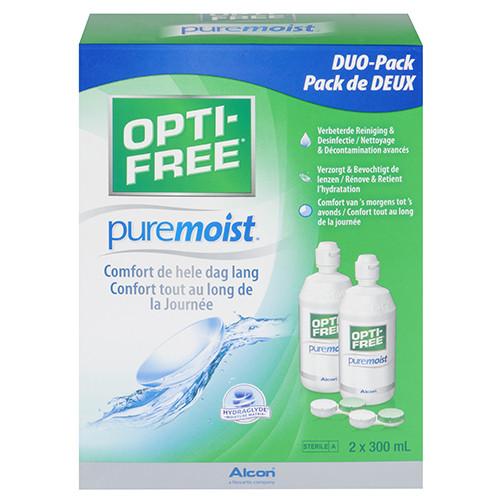 Opti-free Puremoist Duopack